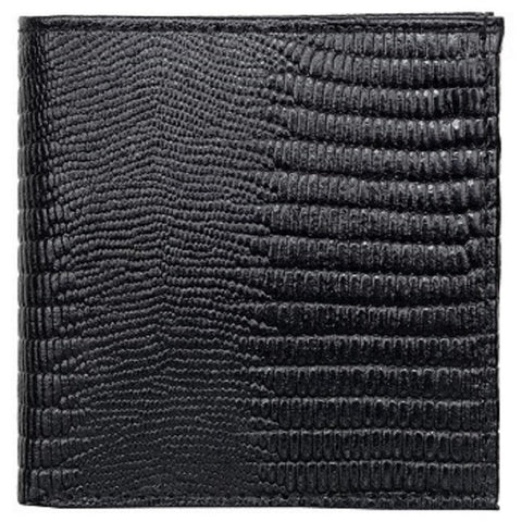 Black Color Leather Mens Embossed Wallet - 511ZLBLACK