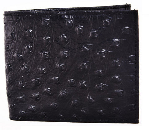 Black Color Leather Mens Embossed Wallet - 511ZOBLACK