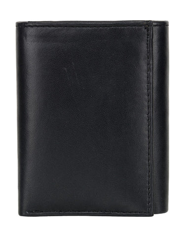 Black Color Leather Credit Card Holder - 518ABCBLK
