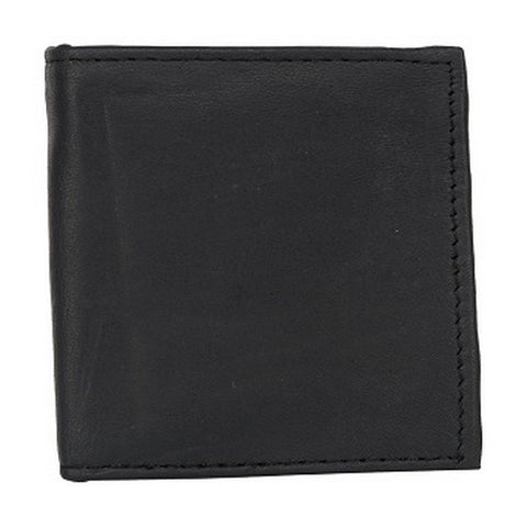 Black Color Leather Credit Card Holder - 522BLK