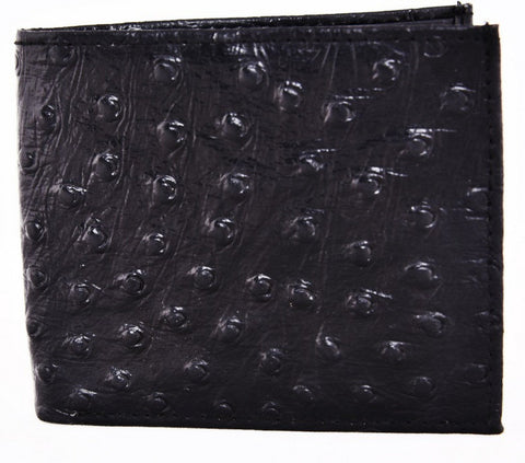 Black Color Leather Mens Embossed Wallet - 528ZOBLACK