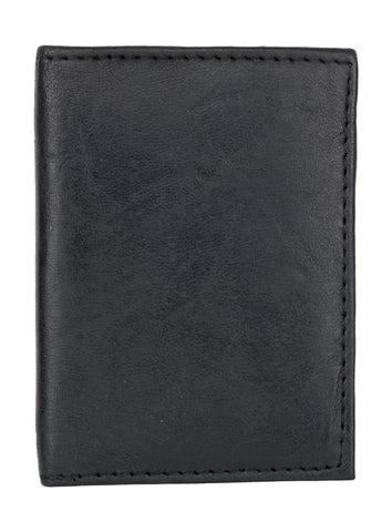 Black Color Leather Credit Card Holder - 569BLK