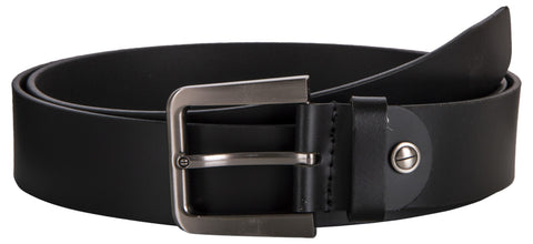 Black Color leather Mens Belt - 7-220BLACK