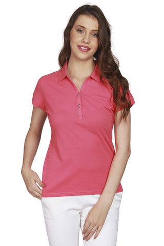 URSENSE-Pink Color Hosery Top-7130-Pnk