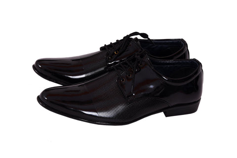 Black Color Patent Leather Formal Shoe - 721Black