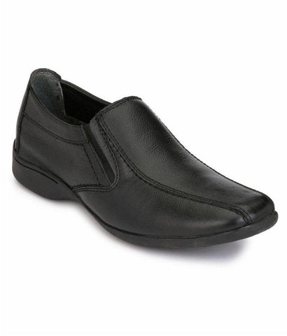 Black Color Leather Men's Formal Shoes - 7289_BLACK