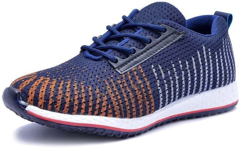 Multi Color Mesh Shoes - 7482-MULTIBLUE