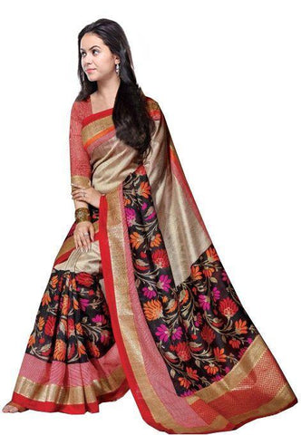 Multi Color Bhagalpuri Sarees - 7A14