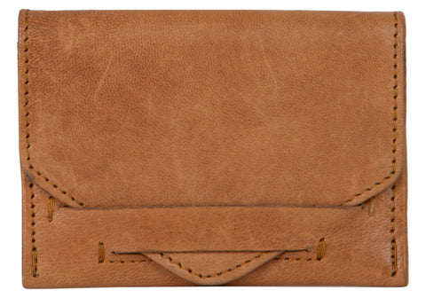Tan Color Leather Womens wallet - 80-TAN