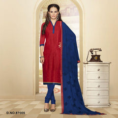 Maroon Color Cotton Satin Salwars