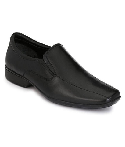 Black Color Leather Men's Formal Shoes - 8773_BLACK
