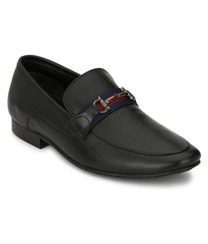 Black Color Leather Men's Formal Shoes - 8794_BLACK