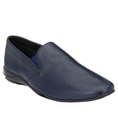 Blue Color Leather Men's Formal Shoes - 9088_BLUE