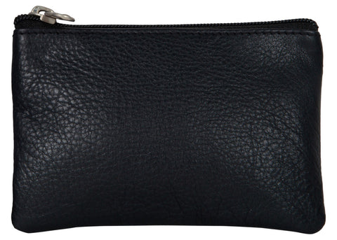 Black Color Leather Womens wallet - 95-BLACK