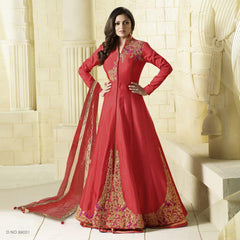 Red Color Taffeta Salwars