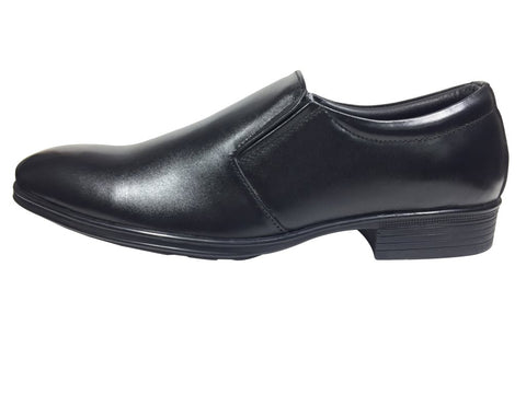 Black Color Leather Pu Men's Formal Shoes - A-101