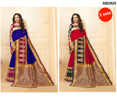 Buy COMBOS-Art Silk Sarees