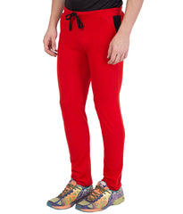 AMERICAN ELM-Red Color Cotton Track Pant - AELW-27