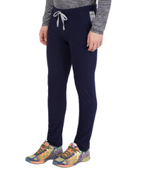 AMERICAN ELM-Navy Blue Color Cotton Track Pant - AELW-28
