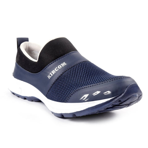 Blue Color Mesh Sports Shoes - AGW-23002