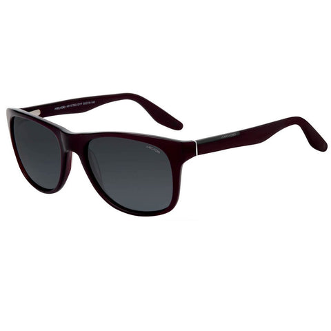 Burgundy Color Hi-Fashion Acetate Polarized Sunglass - AR107BG-GYP