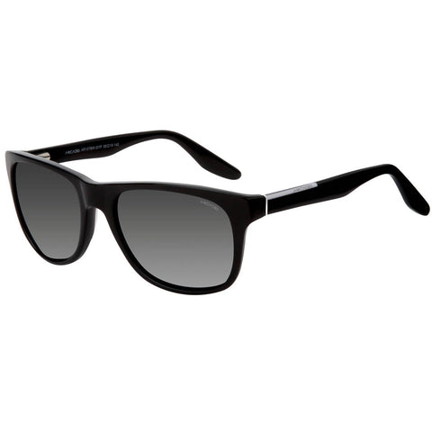 Black Color Hi-Fashion Acetate Polarized Sunglass - AR107BK-SLP