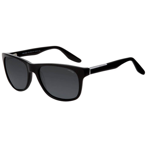 Black Color Hi-Fashion Acetate Polarized Sunglass - AR107BW-GYP