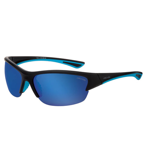 Blue Color Premium Polarized Sports Sunglass - AR140BK-BL