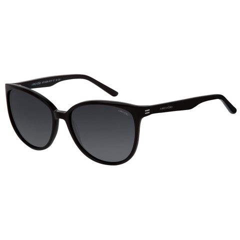 Black Color Cat Eye Women Sunglass - AR153BK-GYP