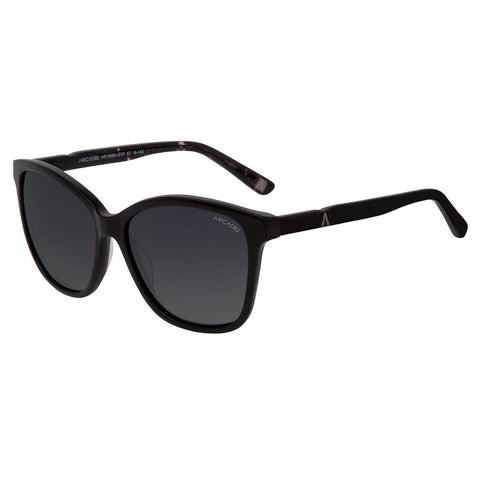 Black Color Hi-Fashion Women Polarized Sunglass - AR156BK-GYP