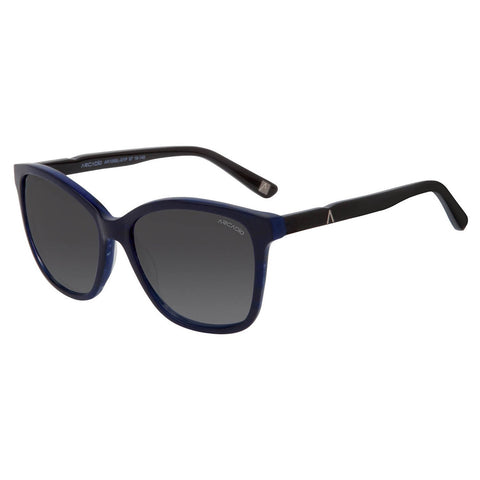 Blue Color Hi-Fashion Women Polarized Sunglass - AR156BL-GYP