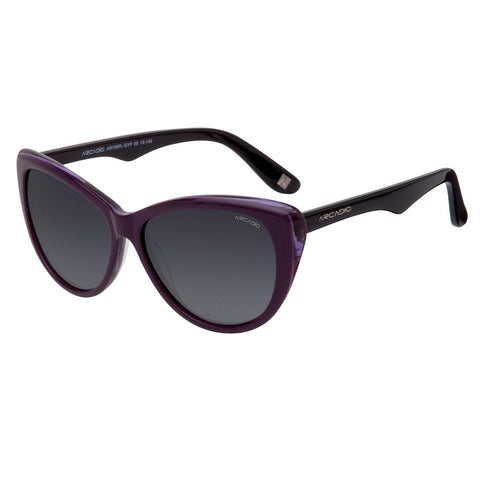 Purple Color Handmade Acetate Polarized Sunglass - AR159PL-GYP