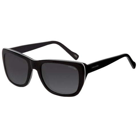 Black Color Hi-Fashion Acetate Polarized Sunglass - AR174BK-GYP