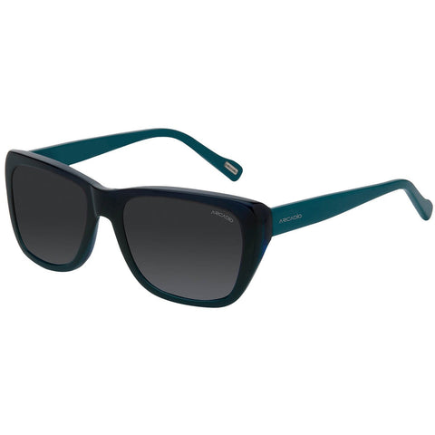 Blue Color Hi-Fashion Acetate Polarized Sunglass - AR174BL-GYP