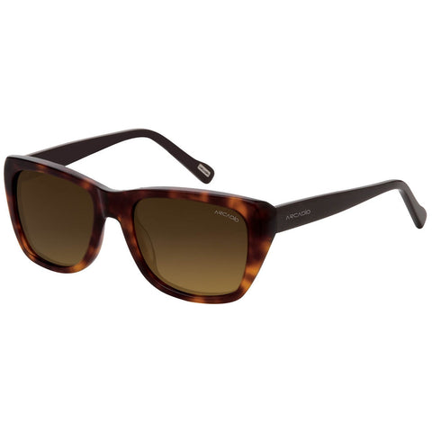 Brown Color Hi-Fashion Acetate Polarized Sunglass - AR174DM-BRP
