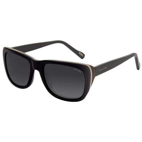 Black Color Hi-Fashion Acetate Polarized Sunglass - AR174GY-GYP