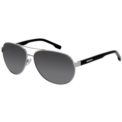 Black Color Oversized Unisex Polarized Sunglass - AR188BK-GYP
