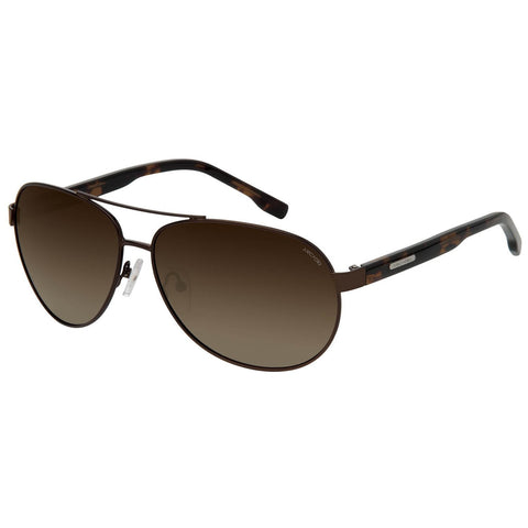 Brown Color Oversized Unisex Polarized Sunglass - AR188DM-BRP