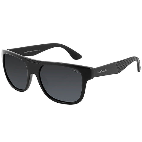 Black Color Hi-Fashion Polarized Sunglass - AR200BK-GYP