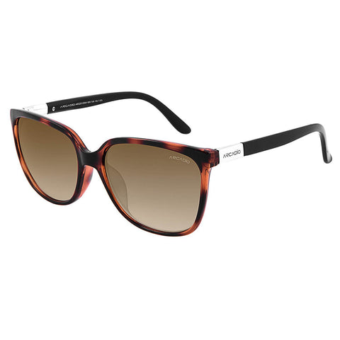 Brown Color Oversized Women Sunglass - AR201DM-BR