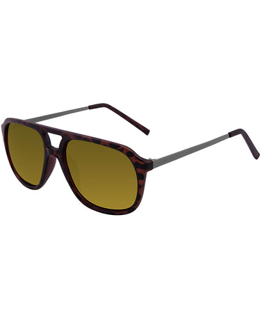 Brown Color Unisex Hi-Fashion Sunglass - AR211DM-GD