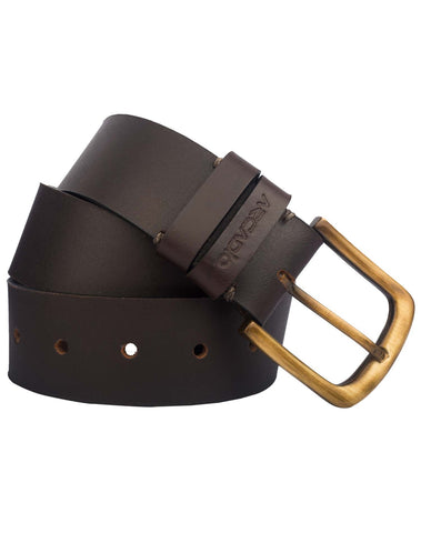 Brown  Color Pure Leather Men's Belt - ARB1016BR