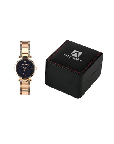 Rose Gold Color Star Gaze  Bracelet Watch - ARSG1001RG