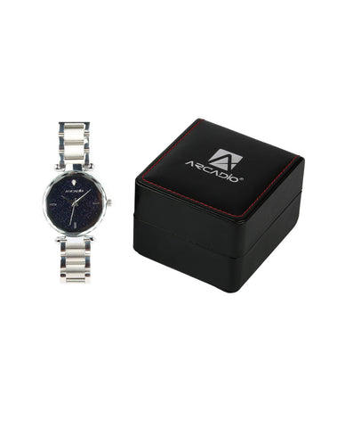 Silver Color Star Gaze  Bracelet Watch - ARSG1001SL