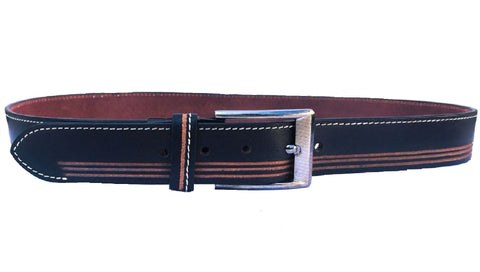 Brown Color Genuine Leather Men Belt - ASFB005