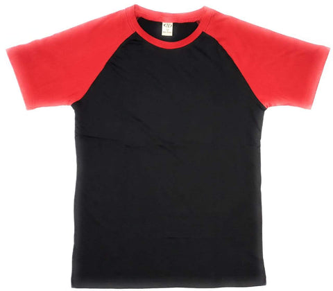 Black Color Cotton Men's Tshirt - AV-1