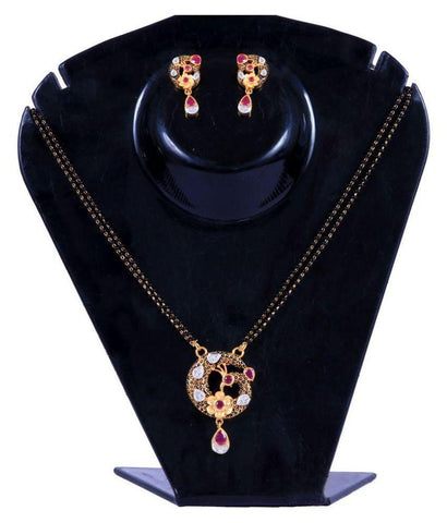 Multi Color Alloy Mangalsutra - Aangi-mangalsutra16