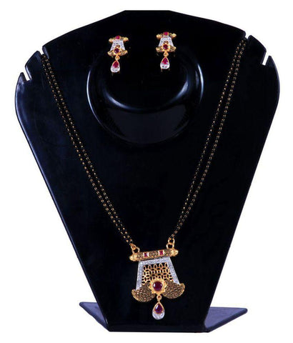 Multi Color Alloy Mangalsutra - Aangi-mangalsutra18