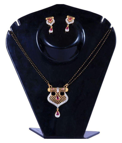 Multi Color Alloy Mangalsutra - Aangi-mangalsutra19
