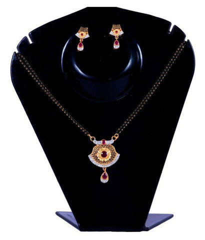Multi Color Alloy Mangalsutra - Aangi-mangalsutra1